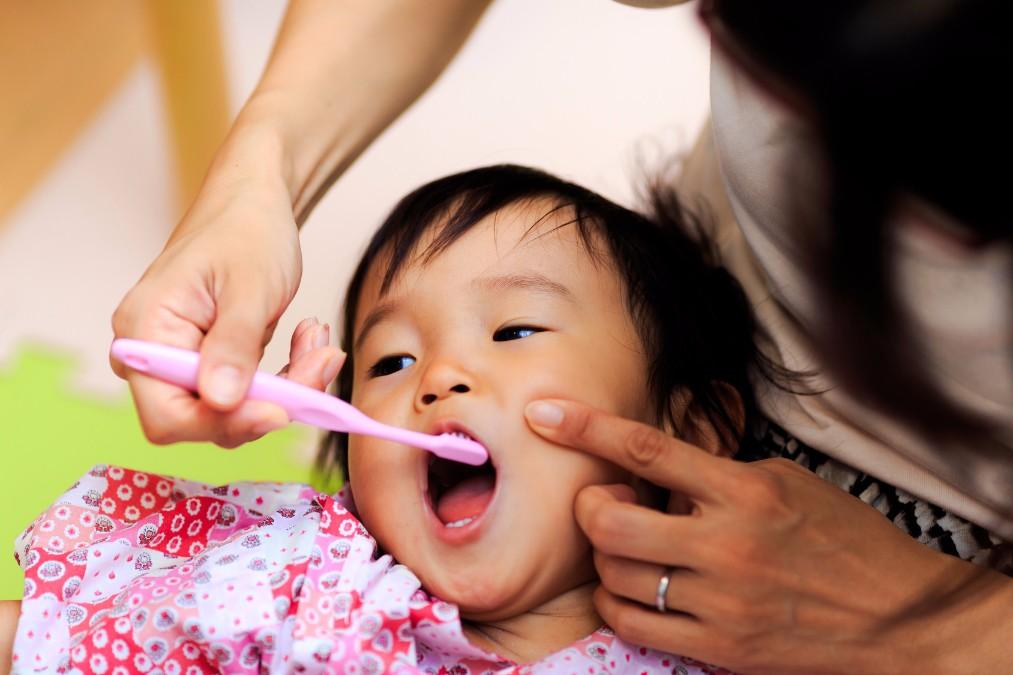 生え始めたらSTART!月齢別赤ちゃんの歯のケア方法