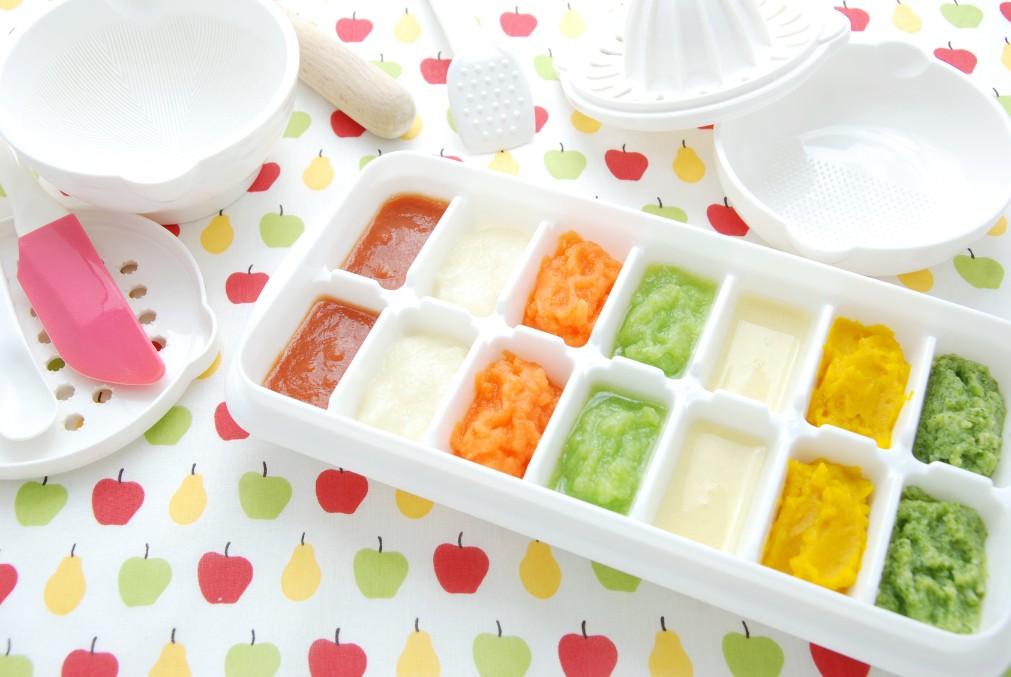 野菜の種類によって違う、離乳食への取り入れ時期の目安